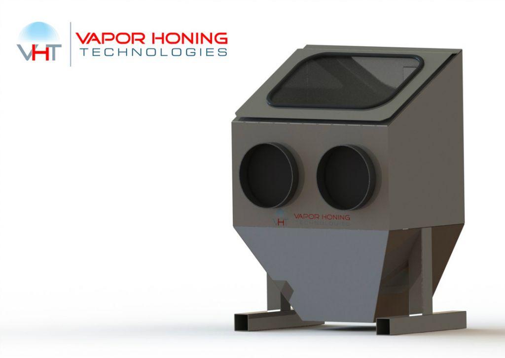 Bench Top Vapor Hone 450 Vapor Blasting Equipment For