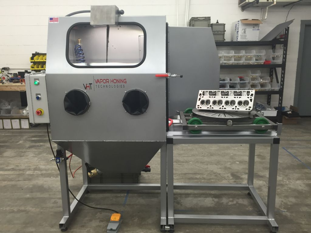 vapor blasting machine for sale