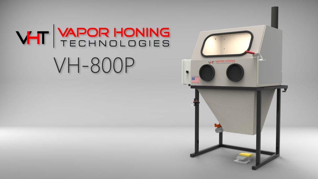 Vapor Hone 800 P Vapor Blasting Equipment For Sale