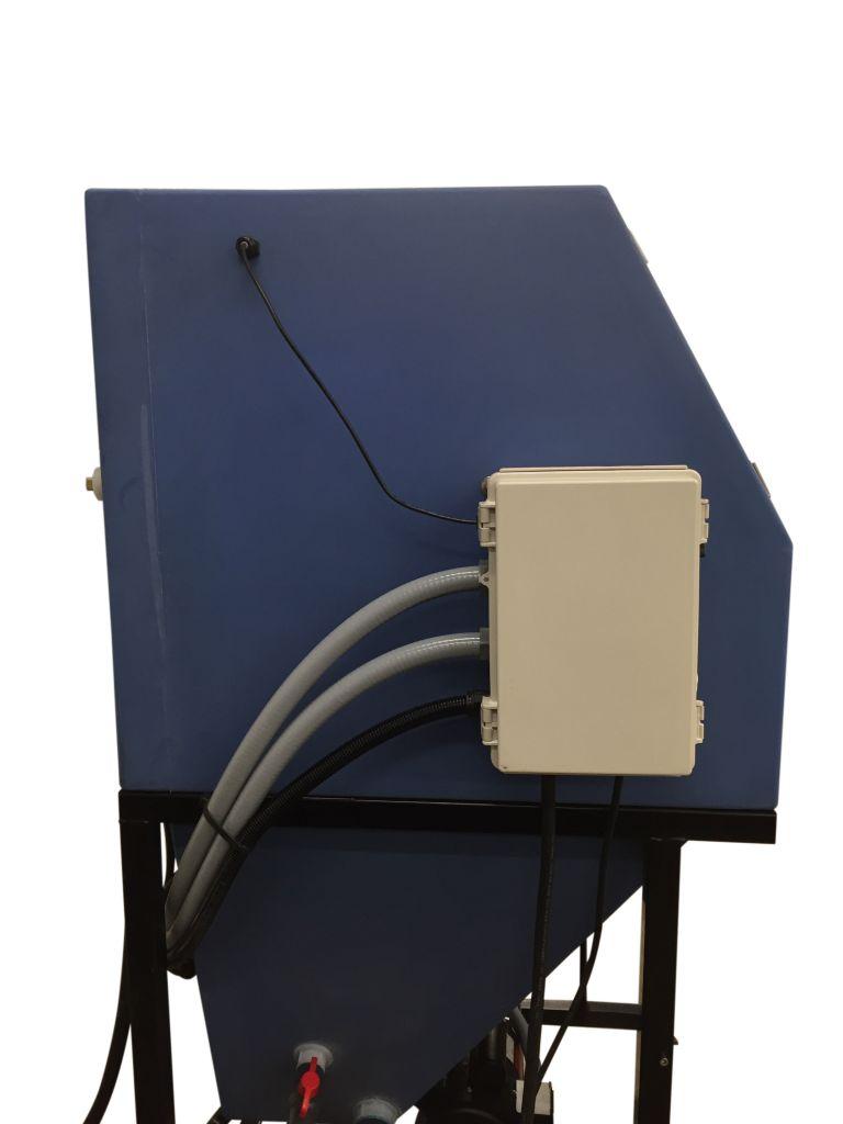 High Pressure Parts Washer Vapor Blasting Equipment For