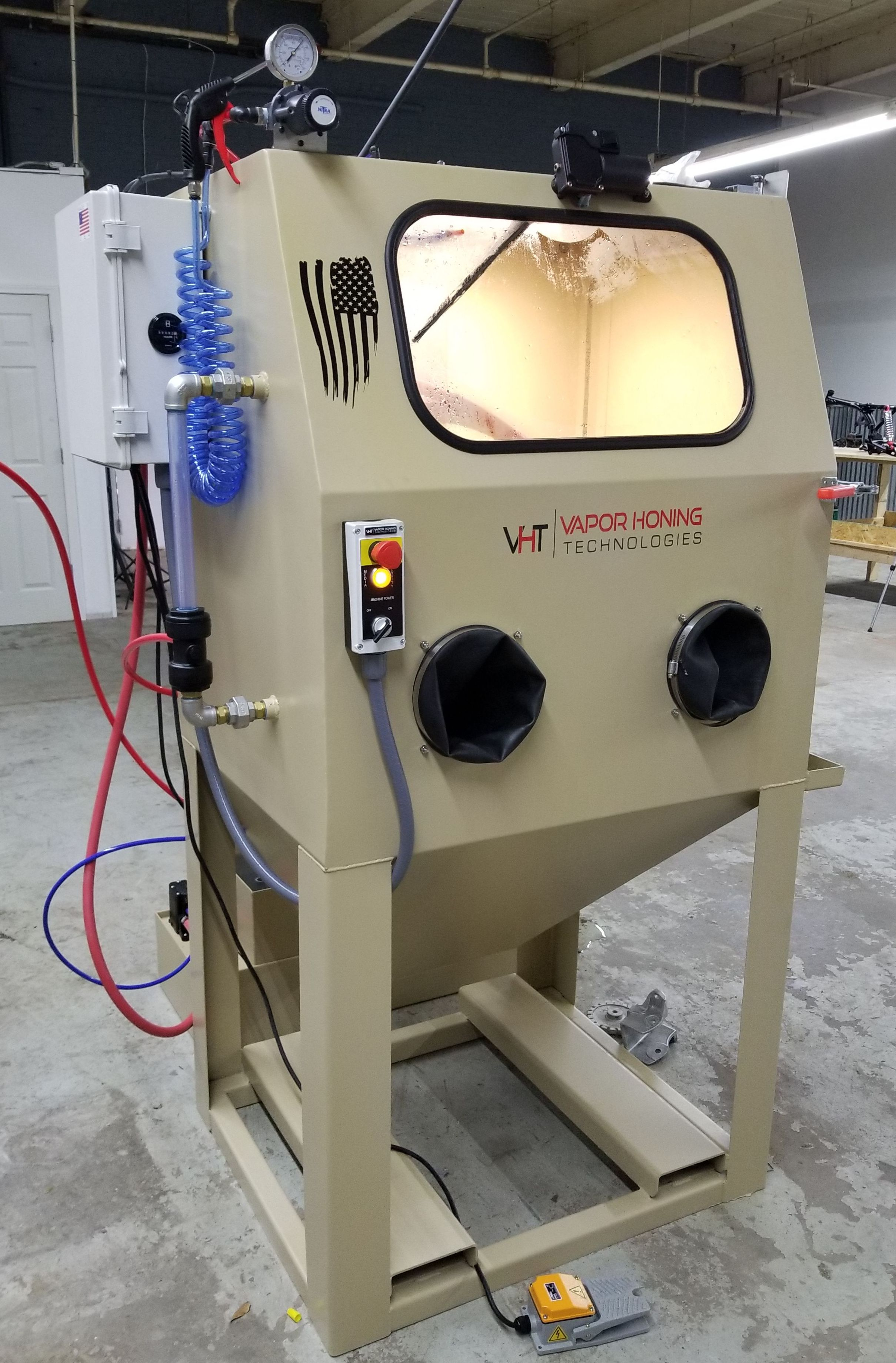 Vapor Hone 1000 Wet Blasting Equipment - Vapor Blasting